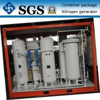 China Container type PSA nitrogen generator for Oil&Gas pressure tank &pipes surging wholesale