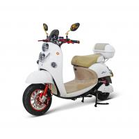 China AOWA Two Wheels White Electric Motorcycles With Self - Checking Function wholesale