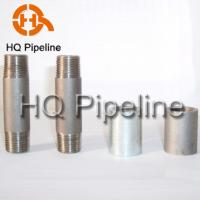 China Steel pipe nipples and couplings wholesale