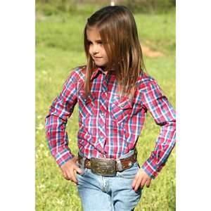 China High quality 100% Cotton Yarn Dyed personality kids plaid shirts girls wholesale