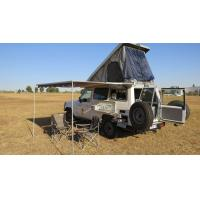 China Off Road Hard Shell Roof Top Tent Side Open ABS Shell Material For 3-4 Person wholesale