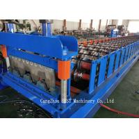 China Automatic Steel Sheet Roll Forming Machine 1250 Mm Max. Width With GI Material wholesale