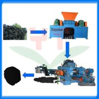China Automatic waste tyre recycling machine/tire recycling production line wholesale