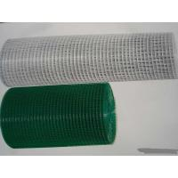 China Square Hole Powder Coated Wire Mesh Panels , Galvanised Weld Mesh Sheet wholesale