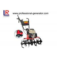 China 3.6L Tractor Tillers and Cultivators , Remote Control 6.5HP Gasoline Cultivator Rotavator Tiller With 196cc wholesale