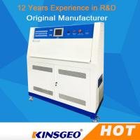 Buy cheap PID SSR Control QUV Accelerated Weathering Environmental Test Chamber With Stainless Steel Plate from wholesalers