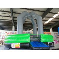 China Green Color Inflatable Sports Games Human Ball Pit / Inflatable Dodgeball Arena wholesale