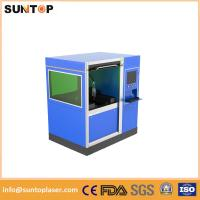 China 500W Small size fiber laser cutting machine for stailess steel and brass cutting wholesale