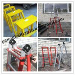 China Two-section fiberglass ladders,Fiberglass insulating splice ladder wholesale