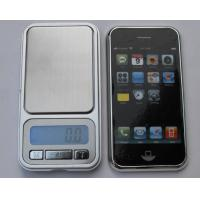 China 500 x 0.01g Portable Digital Pocket Scale LCD Display With Blue Back Light wholesale