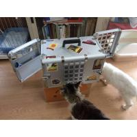 China Household Aluminum Dog Cage for Car / Pet Grooming Cage Carrying Case wholesale