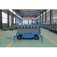 China Professional  Electric Auto Scissor Lift Hydraulic Scissor Lift With Battery on sale