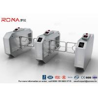 China RFID Entrance Palm Print Swing Gate Turnstile Automatic Coin Card Collector wholesale