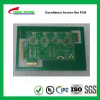 China Aeronautics Printed Circuit Board 8L FR4 Immersion Gold + Hard Gold Quick Turn Pcb wholesale