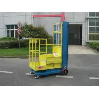 China 4.3m Semi - Electric Aerial Order Picker For Supermarket Stock Picking wholesale