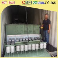 China 3 Ton Containerized Block Ice Plant , Commercial Ice Block Maker Large Production wholesale