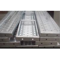 Quality Recycled aluminum scaffold plank / platforms 2.4/1.8/1.2/0.73M*230*63*1.8mm for sale