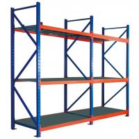 China Paper Industry Storage Multi Layers Wide Span Light Duty Steel Shelving wholesale