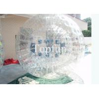 China Roller Inflatable Zorb Ball Rolling Ball , Sports Toy Water / Grass Water Walking Ball  on sale