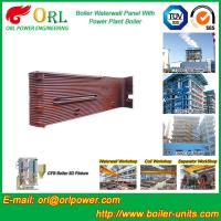 China Gas Steam Industrial Power 300MW Station Boiler Water Walls for Condensing Boiler wholesale