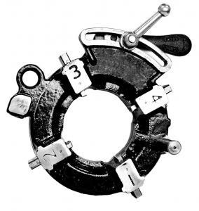 "3"" Electric Pipe Threading Machine Threading Die Head Ductile Cast Iron"