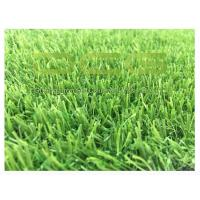 UV Resistant Outdoor Grass Carpet / Fitting Artificial Grass Free Heavy Metal