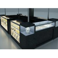 Quality Elegant Appearance Jewelry Showcase Kiosk With Fully - Enclosed Structure for sale