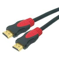 China High Speed Hdmi Cable ,  2 Colors of PVC Injection Housing, nylon sleeve wholesale