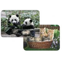 Quality Custom Depth 3D Lenticular Placemats Decoration For Dining Room for sale