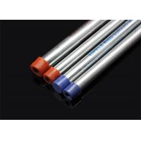 China BS 4568 / BS 31 Hot Dip Galvanized Conduit Pipe With Screwed Ends And Caps wholesale