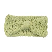 China 22 x 8 cm Microfiber Hair Turban Bamboofiber Elastic Head Band Microfiber Terry Towel wholesale