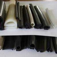 China high quality hot sale Swell anti fire seal gaskets silicone extruded rubber protective strip wholesale
