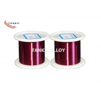 China Rohs Certified Enameled Coating Ni200 Pure Nickel Wire 0.025mm Red Color wholesale