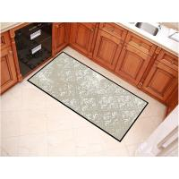 China Large Sizes Outdoor Welcome Mats , Grey Color Design Entrance Door Mats wholesale