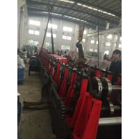 China 3MM Q195-235 C Purlin Roll Forming Machine With 18 Forming Roller Steel Construction Area wholesale