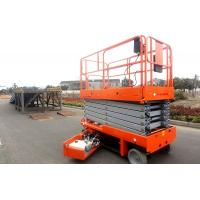 China Mobile Self Propelled Scissor Lift Aerial Work Platform For Aircraft Maintenance / Manufacturing wholesale