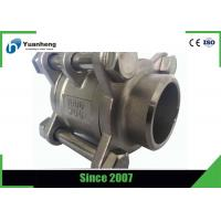 Quality Butt Weld End 1000PSI 3PC Ball Valve Stainless Steel 316 Material for sale