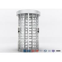 Quality Single Lane Full Height Turnstile , Jails Stainless Steel Turnstile 30 Persons / Minute for sale