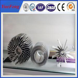 China industrial al6063 t5 aluminum extrusion heatsink profiles cooling fin manufacturer wholesale