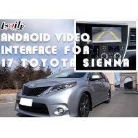 Buy cheap TOYOTA Sienna Android Video Interface , Android Car Interface With 360 Panoramic DVR TMPS product