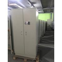 China Chemical Security Hazardous Storage Cabinets White With Electronic Lock filing cabinet wholesale