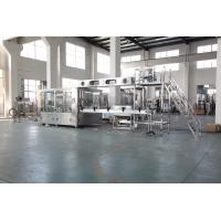 China Auto Plastic Bottle Water Filling Machine With PLC Control Stainless Steel Material wholesale
