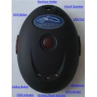 Quality XT107 Mini GSM SMS GPRS GPS Tracker W/ SOS and Speaker & Microphone for 2-Way for sale