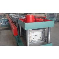 China Width 100 - 300mm Z Type Purlin Cold Roll Forming Machine For Exhibition Building wholesale