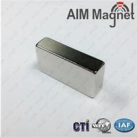 Buy cheap Strong sintered ndfeb magnet block N35 10x10x2mm from wholesalers
