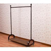 China Stainless Steel Metal Cloth Rack / Garment Showrooms Display Stand wholesale