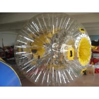 China PVC Interesting Transparent Inflatable Zorb Ball Water Entertainment Ball also Space walking balls on sale