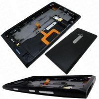 China nokia lumia 900 replacementrear housing cover headphone jack speaker buttons black origina wholesale