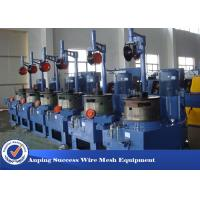 China Aluminium / Copper Wire Drawing Machine For Making Stainless Steel Wire wholesale