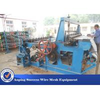 China Low Noise Crimped Wire Mesh Machine For Mine Screen Mesh High Speed wholesale